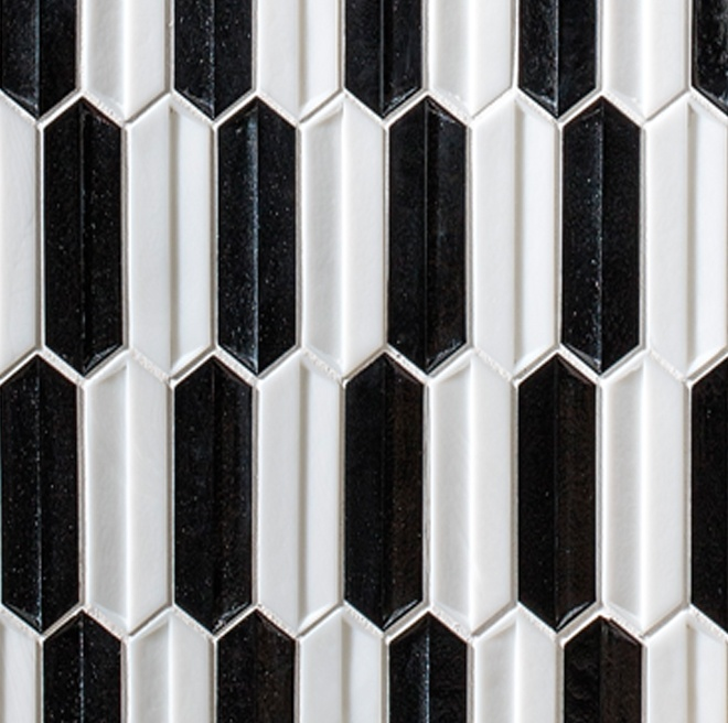 ZO04-Domino-Black-White-Glossy-Overture-Picket-Dimensional-Pattern-02-11-BB-J