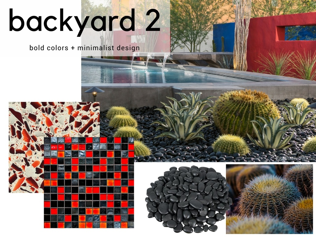 Contemporary Backyard Design Idea
